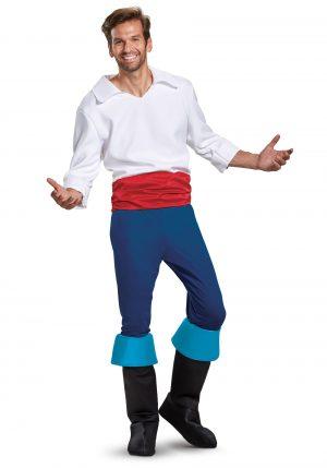 Fantasia masculina Disney Prince Eric Deluxe – Disney Prince Eric Deluxe Mens Costume