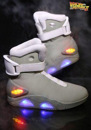 sapatos Ilumine de volta para o futuro   – Light Up Back to the Future ll Shoes