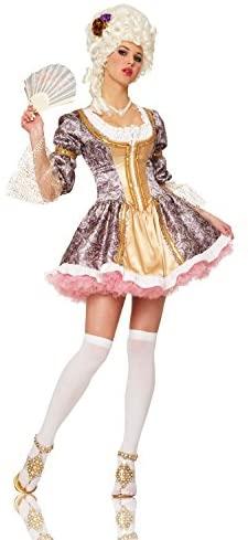 Fantasia Rainha Francesa para Mulheres – French Queen Costume for Women