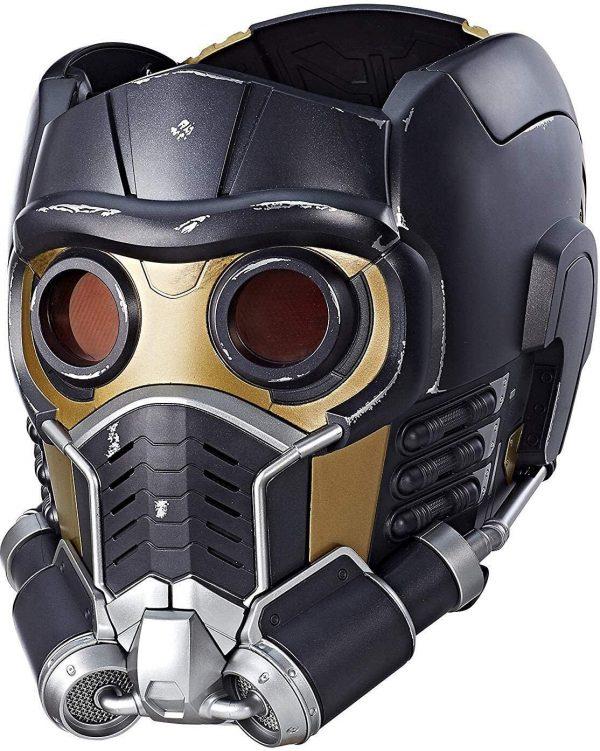 Capacete Eletrônico Senhor das Estrelas Luxo com olhos que se iluminam – Lord of the Stars Luxury Electronic Helmet with eyes that light up