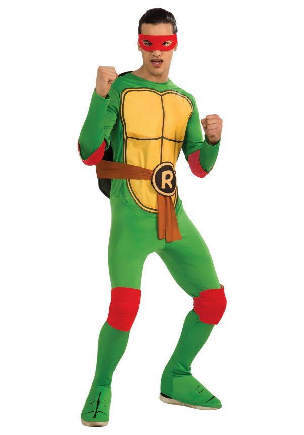 Fantasia Adulto Clássico Tartaruga Ninja Raphael – Classic Adult Raphael Costume