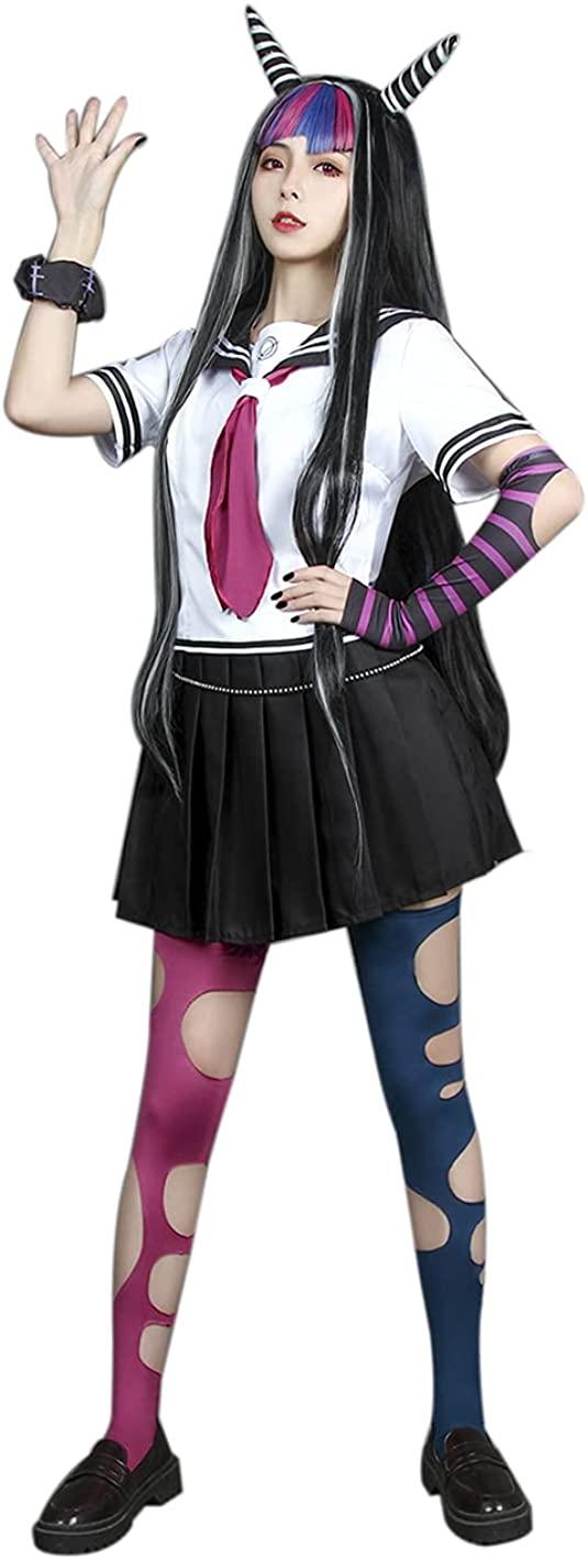 Fantasia Cosplay de uniforme de colégio Mioda Ibuki – Mioda Ibuki College Uniform Cosplay Costume