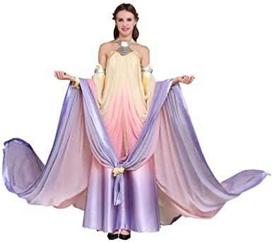 Fantasia CosplayDiy para Rainha Padme Amidala – CosplayDiy Women's Dress for Queen Padme Amidala