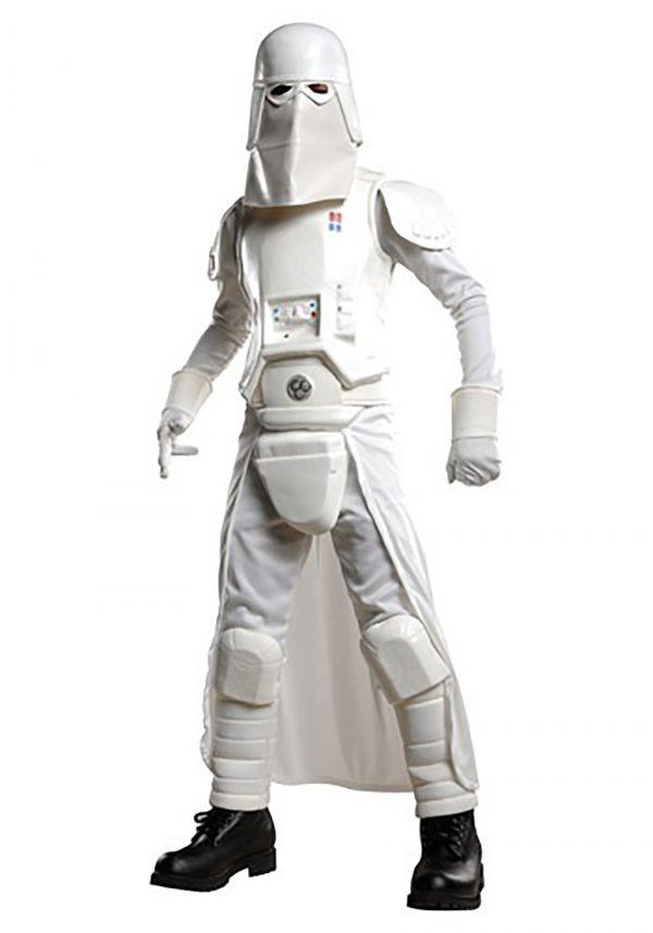 Fantasia Deluxe Infantil  SnowTrooper – Deluxe Kids Snow Trooper Costume