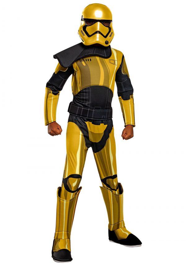 Fantasia Deluxe Star Wars Golden Kids Commander Pyre – Star Wars Golden Kids Commander Pyre Deluxe Costume