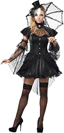 Fantasia Feminina Boneca vitoriana – Victorian Doll Women's Costume