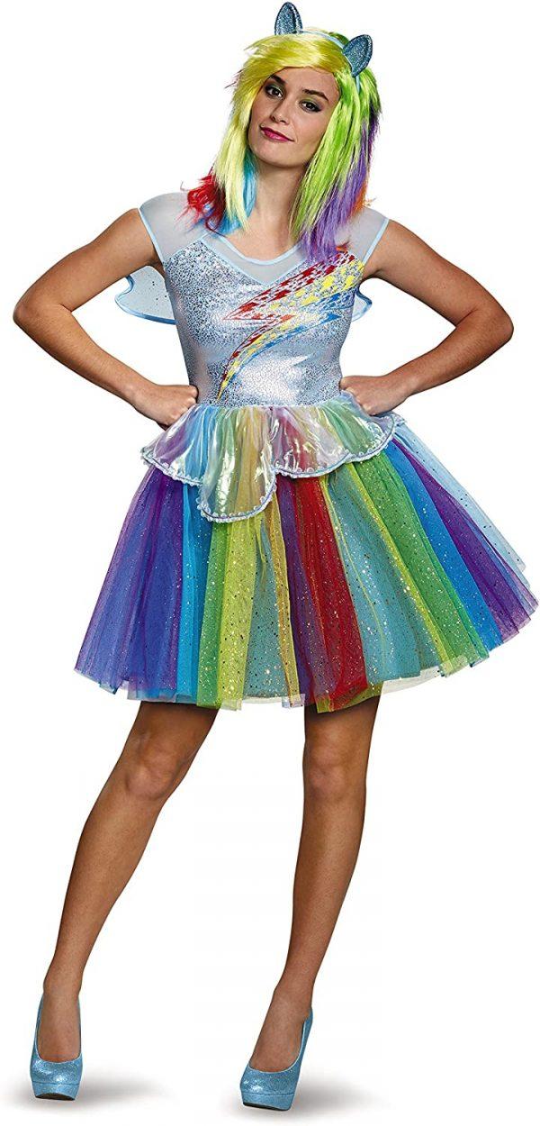 Fantasia Feminina My Little Pony Rainbow – My Little Pony Rainbow Women's Costume