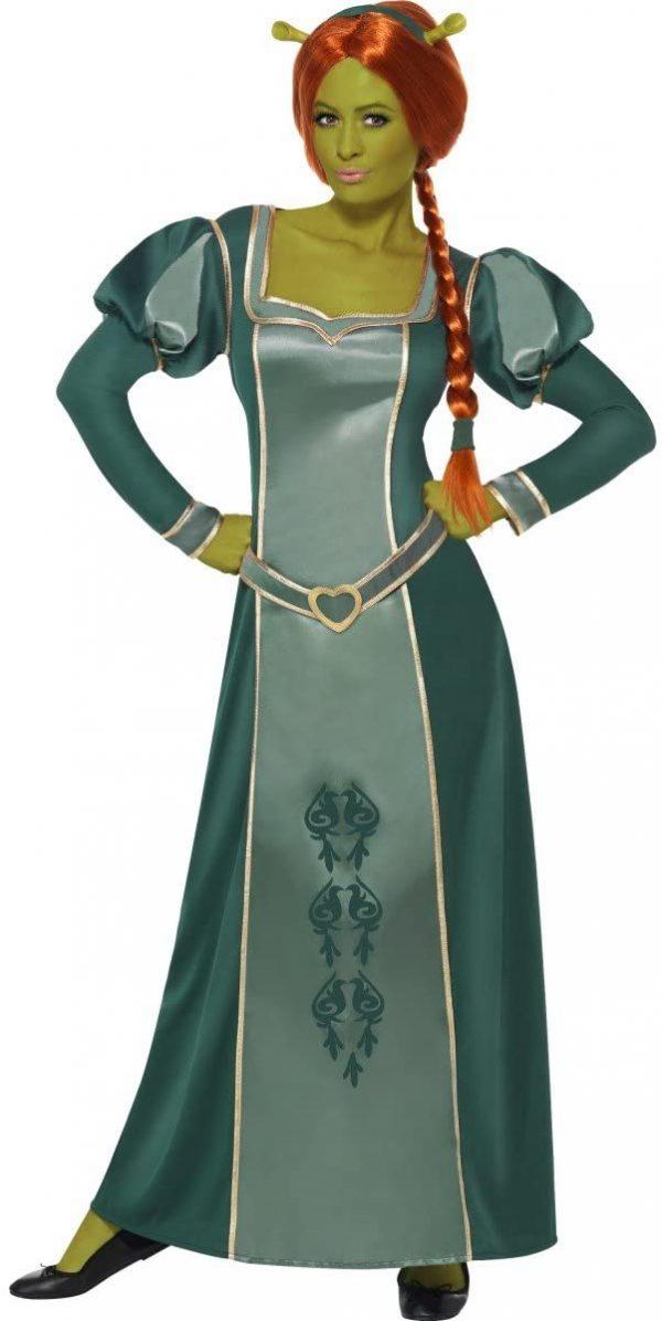Fantasia Feminina Shrek Fiona – Shrek Fiona Women's Costume