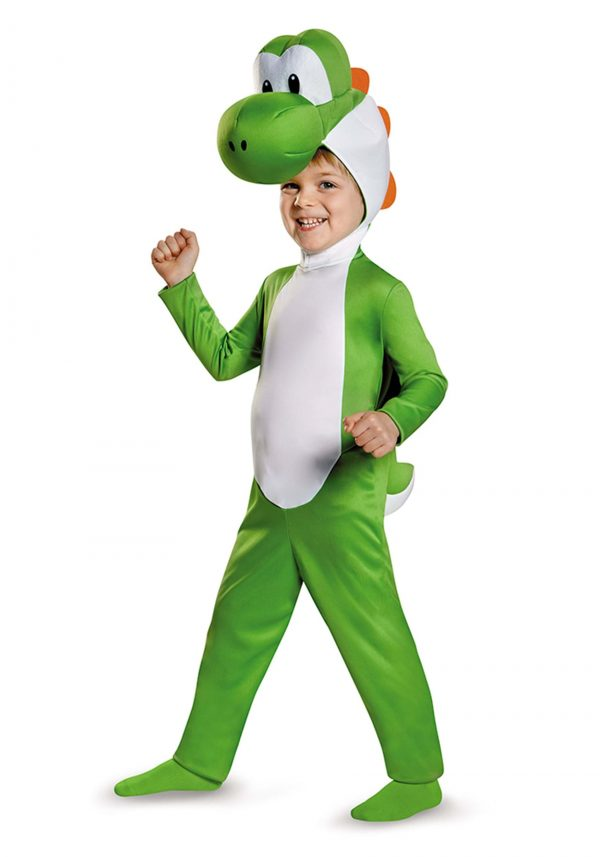 Fantasia INfantil Mario Bross Yoshi – Toddler Yoshi Costume