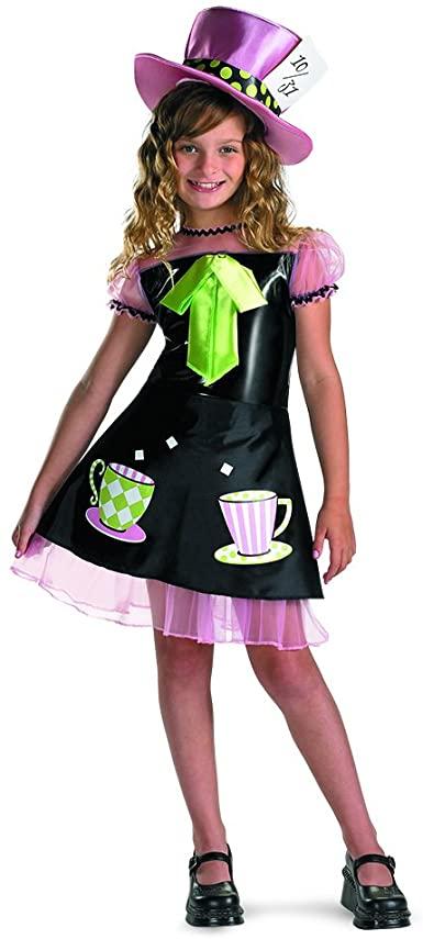 Fantasia Infantil Chapeleiro maluco para meninas – Disguise Mad Hatter Costume