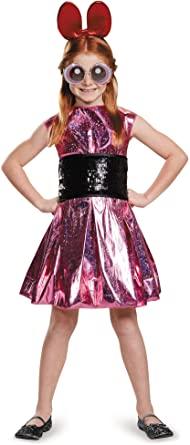 Fantasia Infantil Meninas Superpoderosas Florzinha- Disguise Blossom Deluxe Powerpuff Girls Cartoon Network Costume