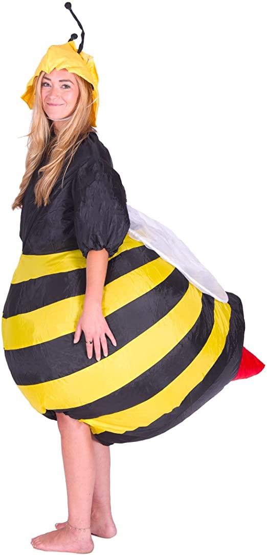 Fantasia Inflável de Abelha para Adultos –   Inflatable Bee Costume for Adults