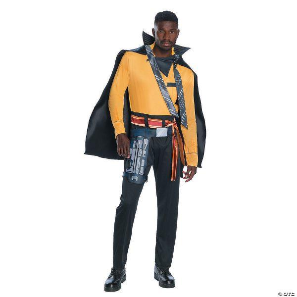 Fantasia Masculino Deluxe Solo: Uma história de Star Wars  Lando Calrissian – Men's Deluxe Solo: A Star Wars™ Story Lando Calrissian Costume