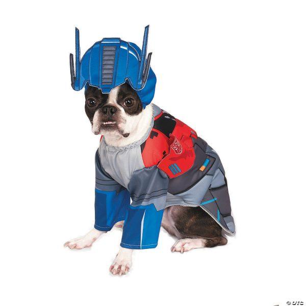 Fantasia  Transformers  Deluxe Prime Dog Optimus – Transformers Deluxe Optimus Prime Dog Costume