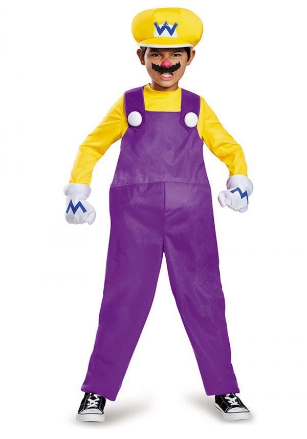 Fantasia Wario Deluxe para crianças – Wario Deluxe Costume for Kids