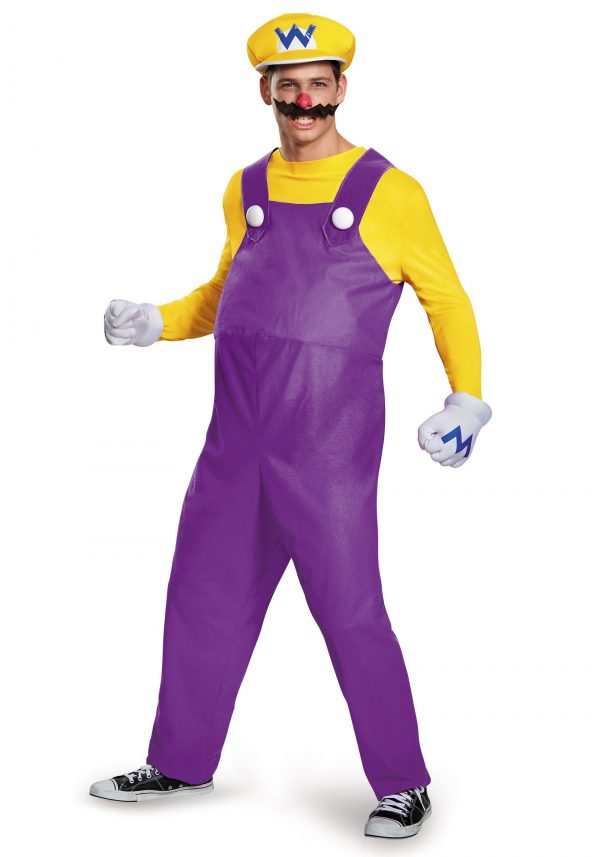 Fantasia adulto Wario Deluxe – Adult Wario Deluxe Costume