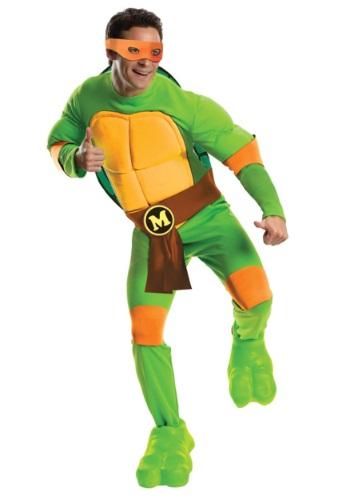 Fantasia adulto de luxo Michelangelo – Deluxe Adult Michelangelo Costume