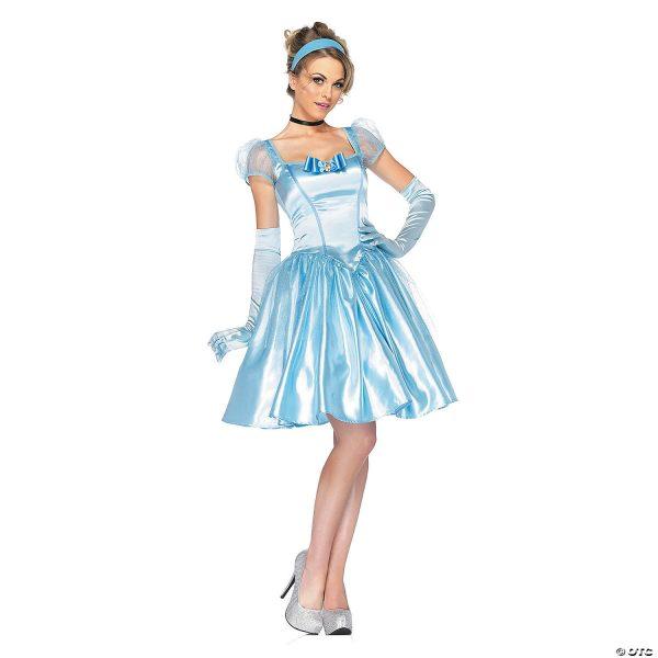 Fantasia clássico de Cinderela para mulheres – Classic Cinderella Costume for Women