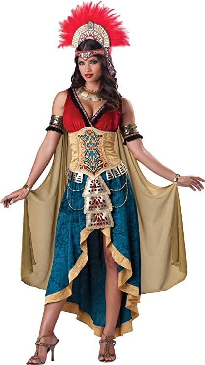 Fantasia da rainha maia para mulheres – Mayan Queen Costume for Women