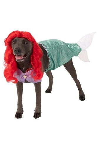 Fantasia de Animal de Estimação Tamanho Plus A Pequena Sereia Ariel – The Little Mermaid Ariel Plus Size Pet Costume