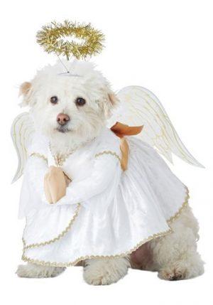 Fantasia de Anjinho para animais de estimação – Heavenly Hound Animal Costume