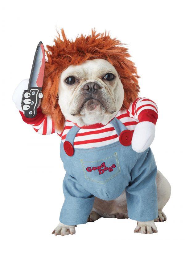 Fantasia de Boneco Chucky para Cachorro – Dog Deadly Doll Costume