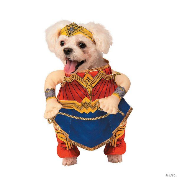 Fantasia de Cachorro da Mulher Maravilha da Liga da Justiça – Justice Leagu Wonder Woman Dog Costume