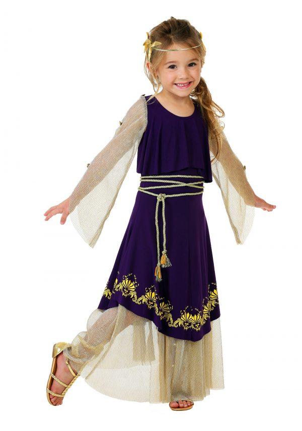 Fantasia de Deusa Afrodite para criança – Toddler Aphrodite Goddess Costume