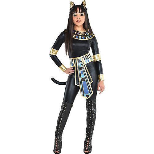 Fantasia de Deusa Egípcia para Adultos-Adult Egyptian Goddess Costume