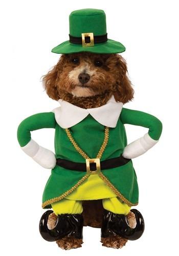 Fantasia de Duende para Cães  – Lucky Walking Leprechaun Costume for Dogs