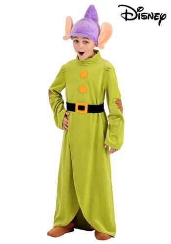 Fantasia de Dunga de Criança da Branca de Neve – Snow White Kid's Dopey Costume