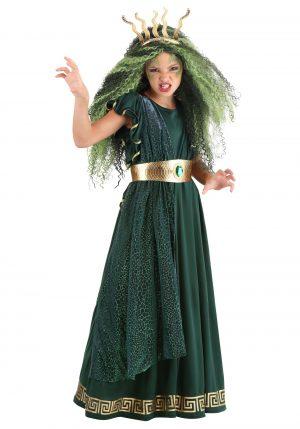 Fantasia de Halloween Exclusiva para Meninas Medusa – Girls Medusa Exclusive Halloween Costume