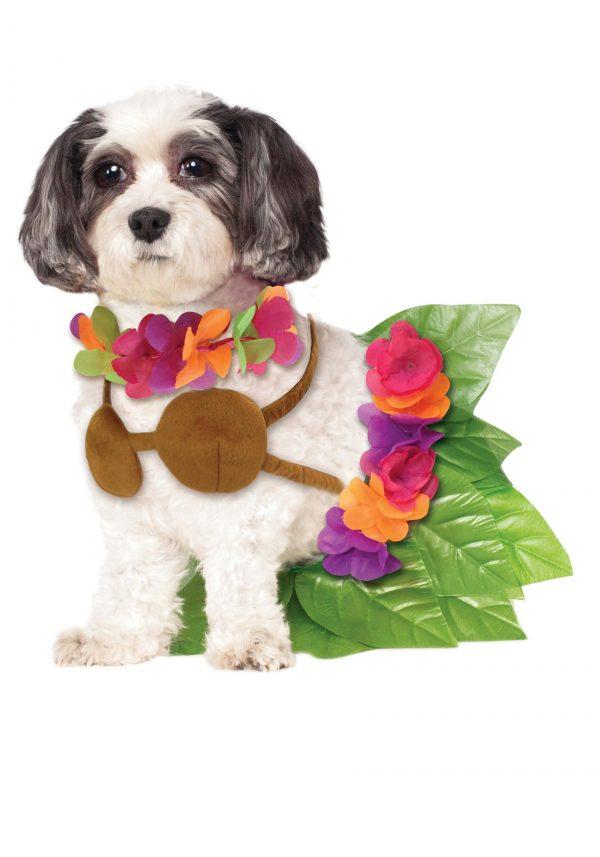 Fantasia de Hula Girl Pet- Hula Girl Pet Costume