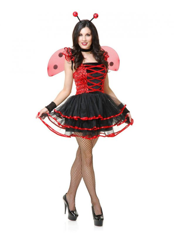 Fantasia de Joaninha para  Adulto – Lady Bug Cutie Adult Costume