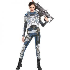 Fantasia de Kait Diaz para adultos  Gears of War- Adult Kait Diaz Costume  Gears of War