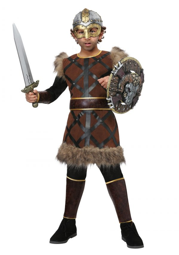 Fantasia de Lutador Viking para Crianças – Fighting Viking Boys Costume