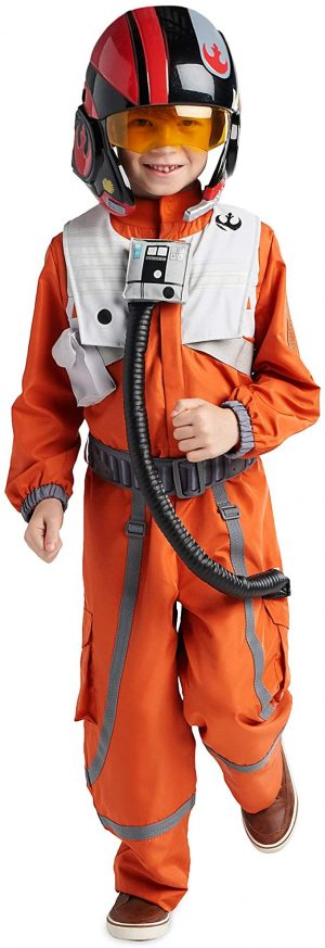 Fantasia de Poe Dameron de Star Wars para meninos – Star Wars Poe Dameron Costume for Boys