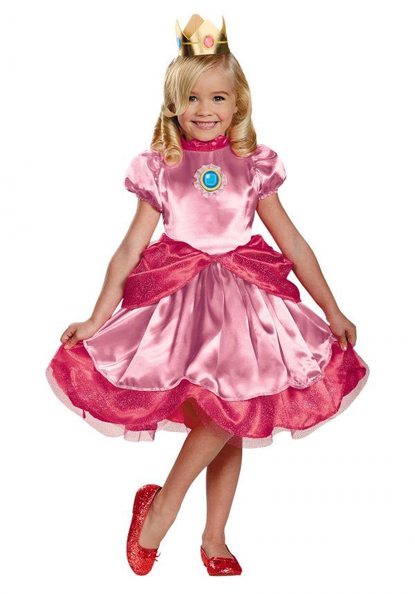 Fantasia de Princesa Pêssego para Crianças – Toddler Princess Peach Costume