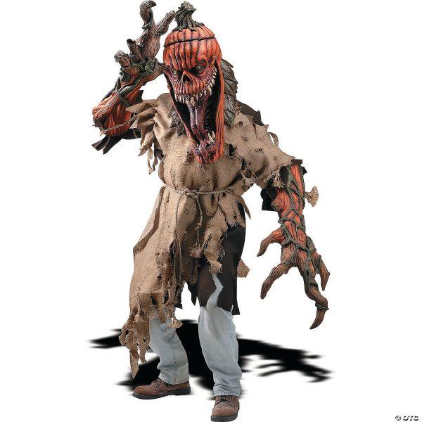 Fantasia de Reacher Criatura Mal Seed Masculino – Men's Bad Seed Creature Reacher Costume