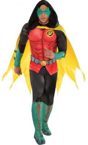 Fantasia de Robin Muscle para adultos DC Comics New 52 – Adult Robin Muscle Costume DC Comics New 52