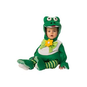 Fantasia de Sapo para Bebe – Frog Infant Size Baby's Halloween Costume