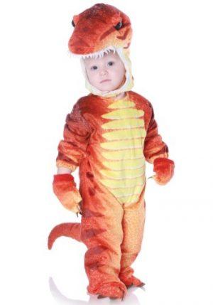 Fantasia de T-Rex  infantil –  Child Rust T-Rex Costume