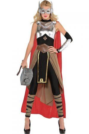Fantasia de Thor adulto Feminino – Adult Thor Costume
