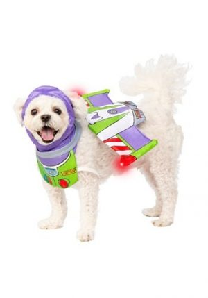 Fantasia de Toy Story Buzz Lightyear para cachorro – Toy Story Buzz Lightyear Costume for Dog