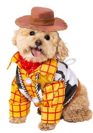 Fantasia de Toy Story Woody para cachorro – Toy Story Woody Costume For Dog