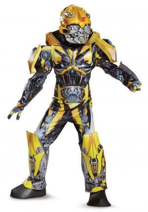 Fantasia de Transformers 5 Bumblebee infatil – Transformers 5 Bumblebee Prestige Costume