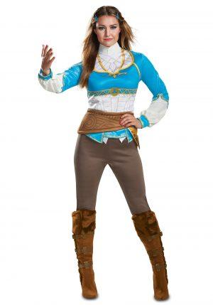 Fantasia de Zelda para Adultos de Breath of the Wild – Breath of the Wild Adult Zelda Costume