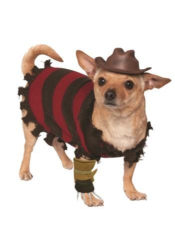 Fantasia de animal de estimação Freddy Krueger-Freddy Krueger Pet Costume