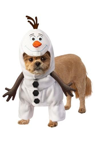 Fantasia de animal de estimação Frozen Olaf – Frozen Olaf Pet Costume