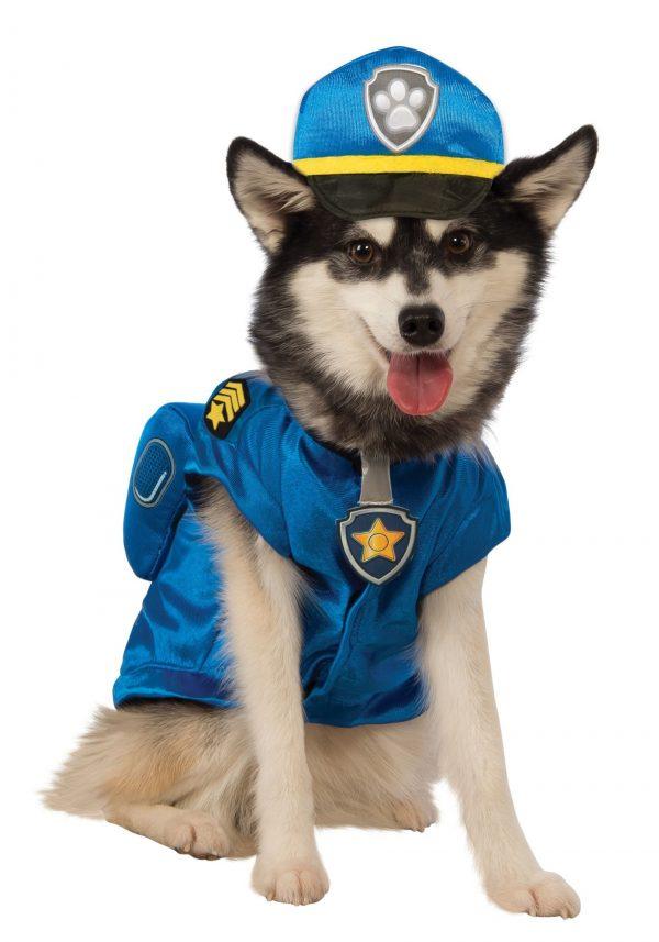Fantasia de animal de estimação Patrulha Canina Chase – Paw Patrol Chase Pet Costume